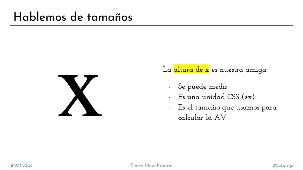 Diapositiva 18: Hablemos de tamaños