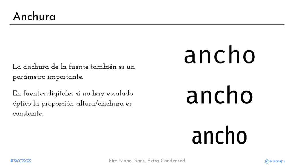 Diapositiva 23: Anchura