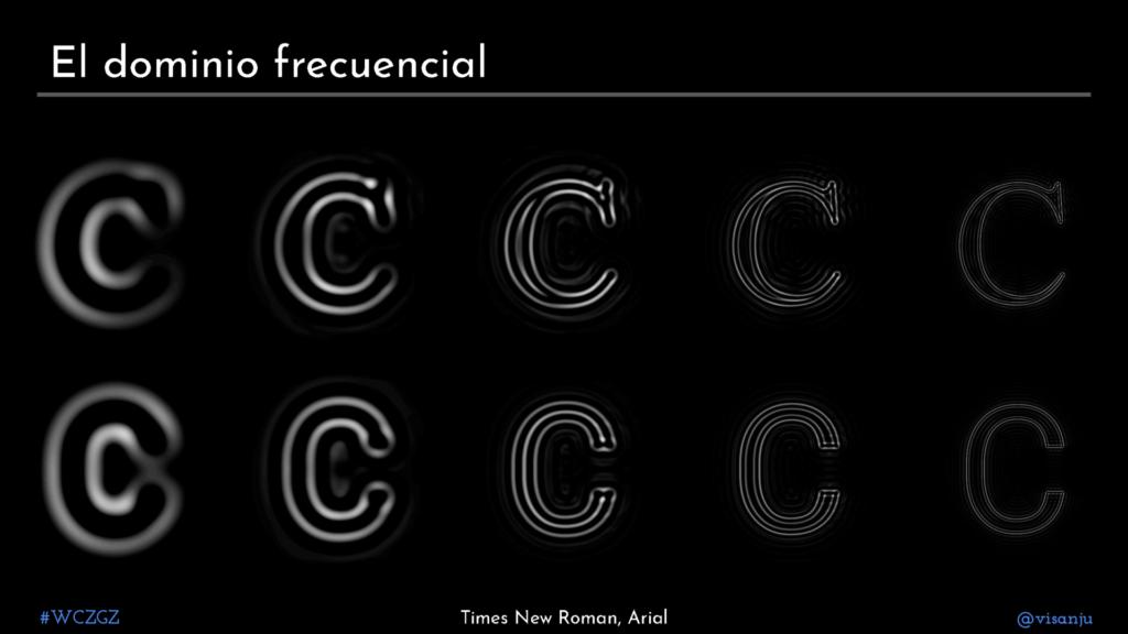 Diapositiva 34: El dominio frecuencial
