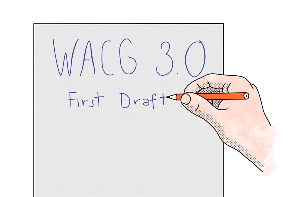 Imagen ilustrativa del borrador WCAG 3.0
